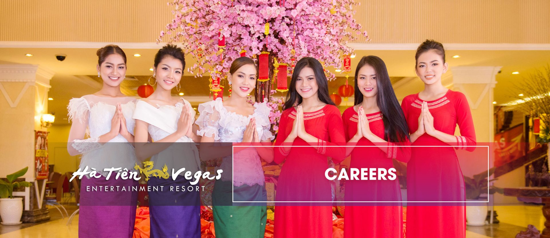 Look for job on our careers page at Ha Tien Vegas Hotel & Resort in Cambodia